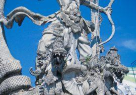 Statue of Arjuna