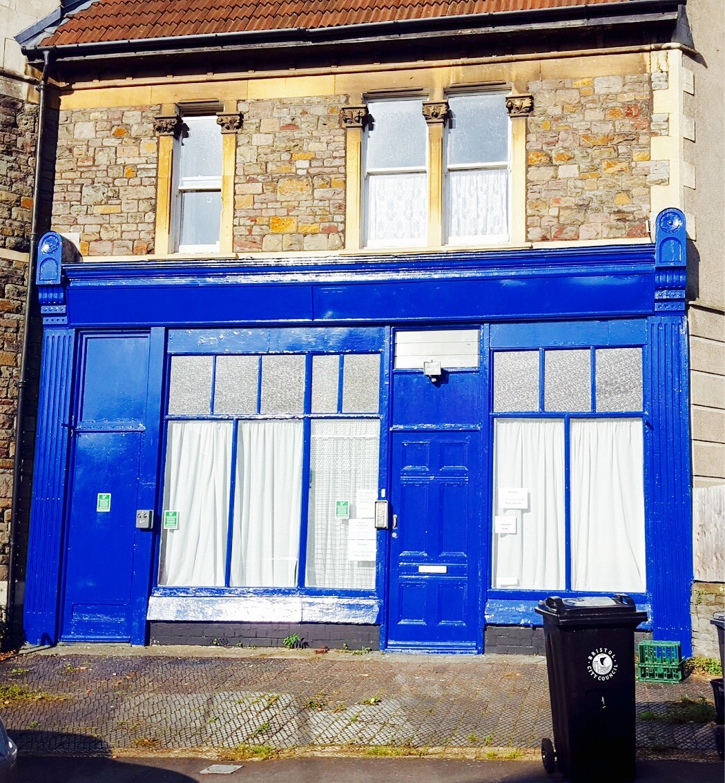 The Swan Project premises on 1 Fairlawn Road, Montpelier, Bristol